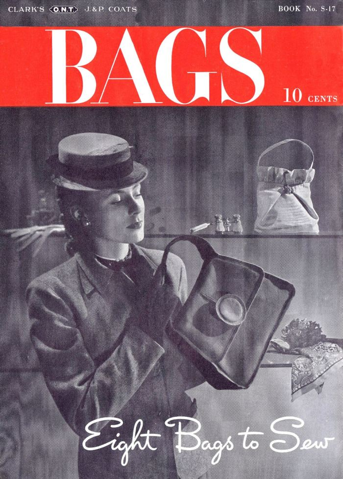 bags hand bags purse pattern vintage 40s