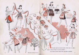 aprons vintage 40s sewing patterns