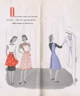 vintage 40s apron patterns