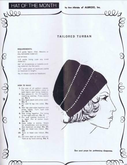Free Turban Pattern