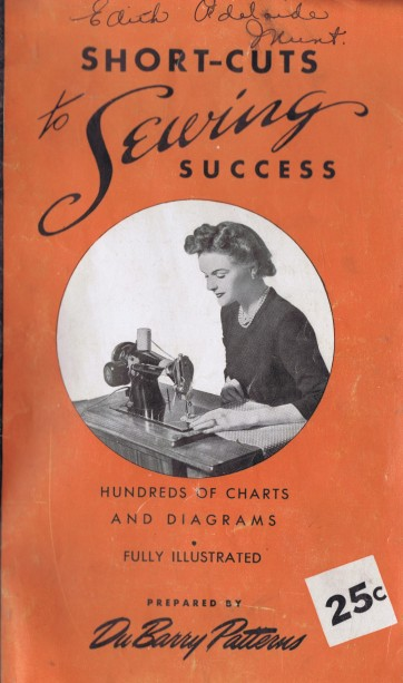 Vintage Short Cuts to Sewing Success by DuBarry Patterns