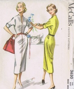 3630 Vintage McCall's Sheath Dress