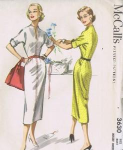 3630 Vintage McCall's Sheath Dress