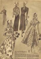 Vintage 40s Patterns 507 | 508a | 509