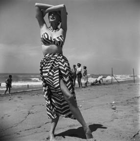 Dorian Leigh in Swimwear by Joset Walker