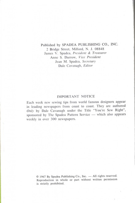 Copyright 1967