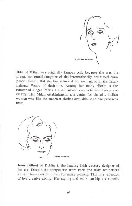 Biki of Milan | Irene Gilbert
