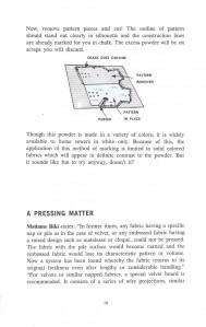 A Pressing Matter