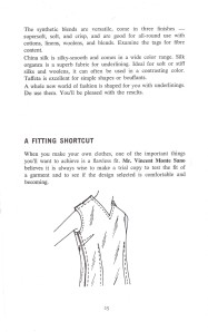 Vincent Monte Sano | Fitting Shortcuts