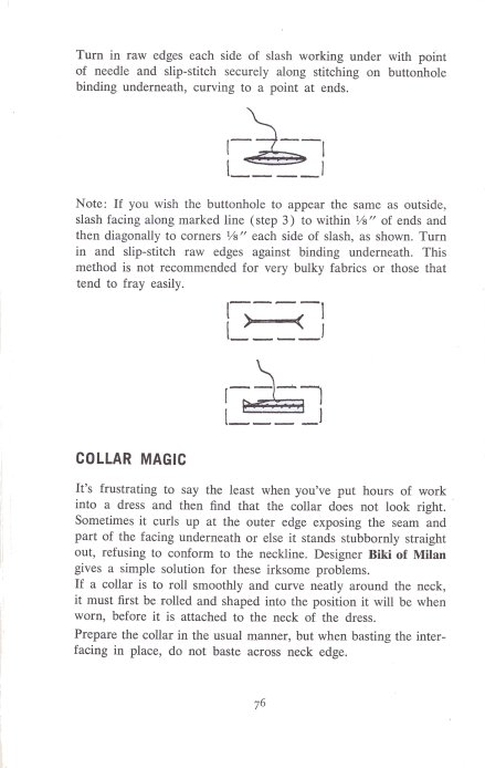 Collar Magic | Shaping the Collar to Perfection