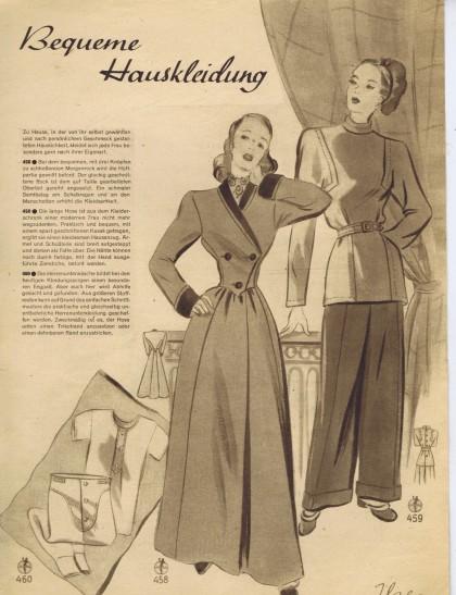 40s Lounging Pajamas