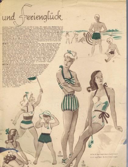 Vintage Bathing Suit Patterns