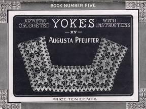 5 Artistic crocheted Yokes augusta Pfeuffer 01