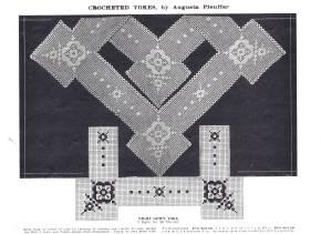 5 Artistic crocheted Yokes augusta Pfeuffer 11