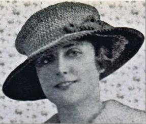 vintage 1900s hat pattern crochet free