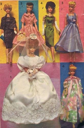 free vintage pattern fashion doll 2286 advance sewing pattern