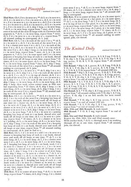 vintage doily pattern page 3