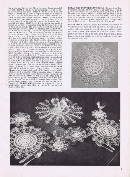Free Vintage Doily Pattern Sheer Witchery