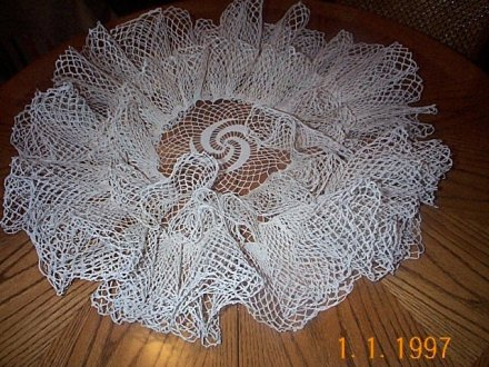 Double Ruffle Doily | Spool cotton