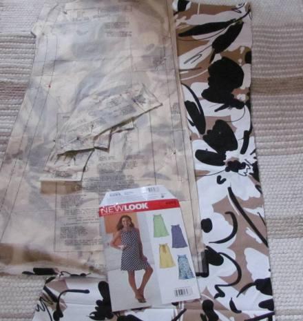 Fabric from Haberman's Royal Oak, Mi