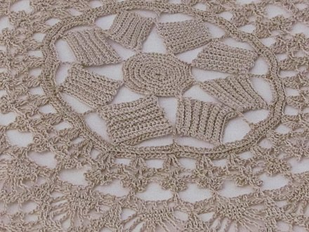 Center 1890 Doily remake
