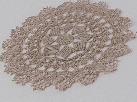 My Version Vintage 1890s Doily Pattern