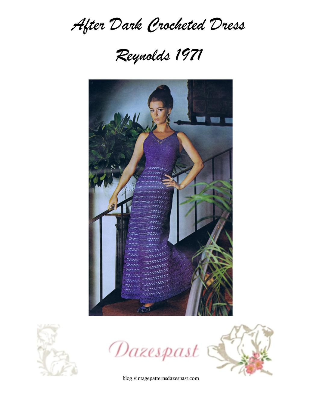 Crocheted Dress pattern