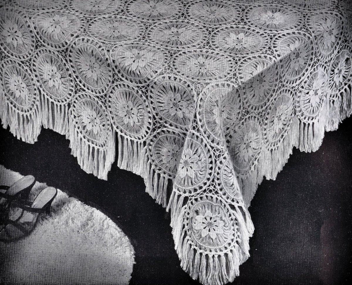 Free Vintage Maltese Lace Crochet Patterns Vintage ...
